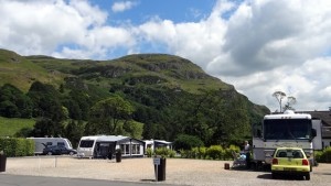 at the foot of the ochil hills