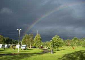 caravan park rainbow