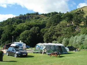 View of campsite