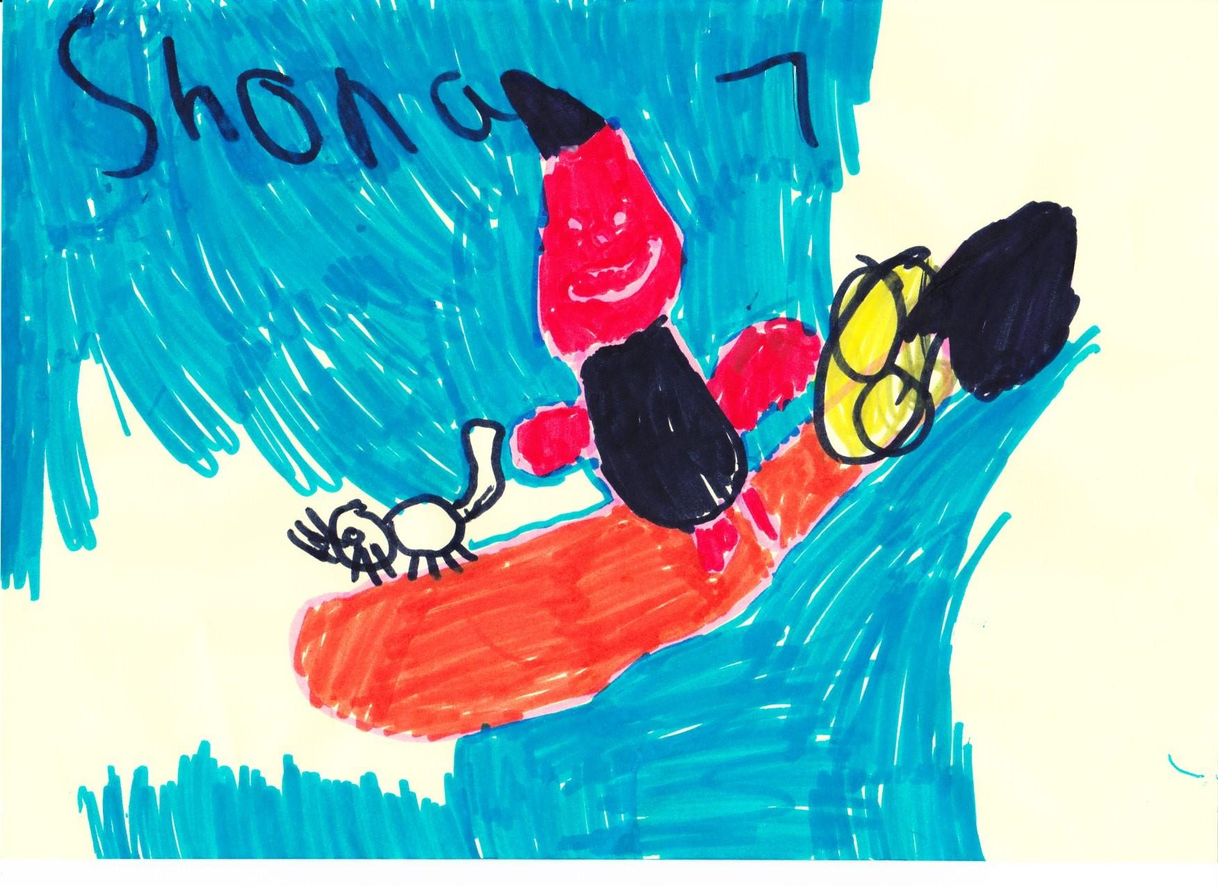 Shona Steel, age 7