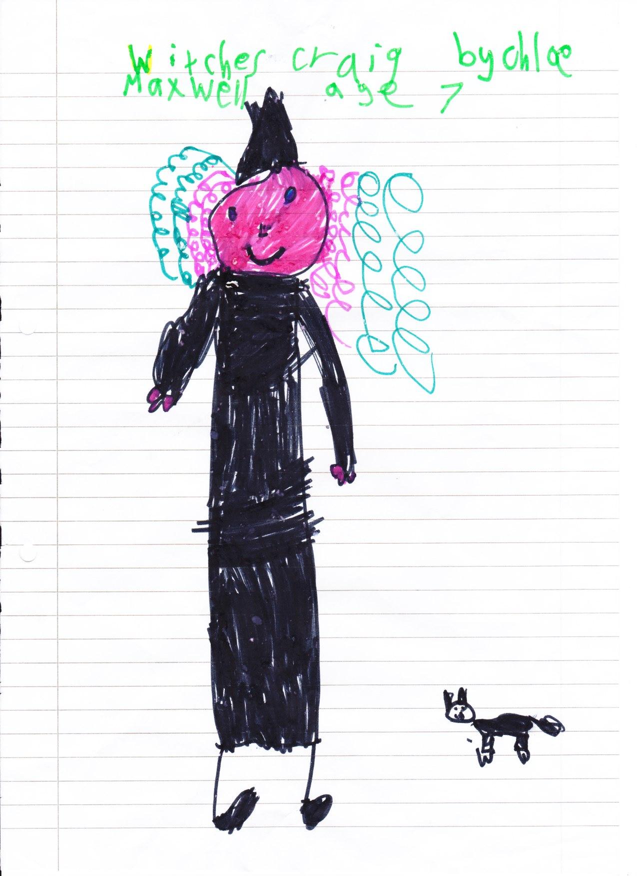 Chloe Maxwell, Age 7