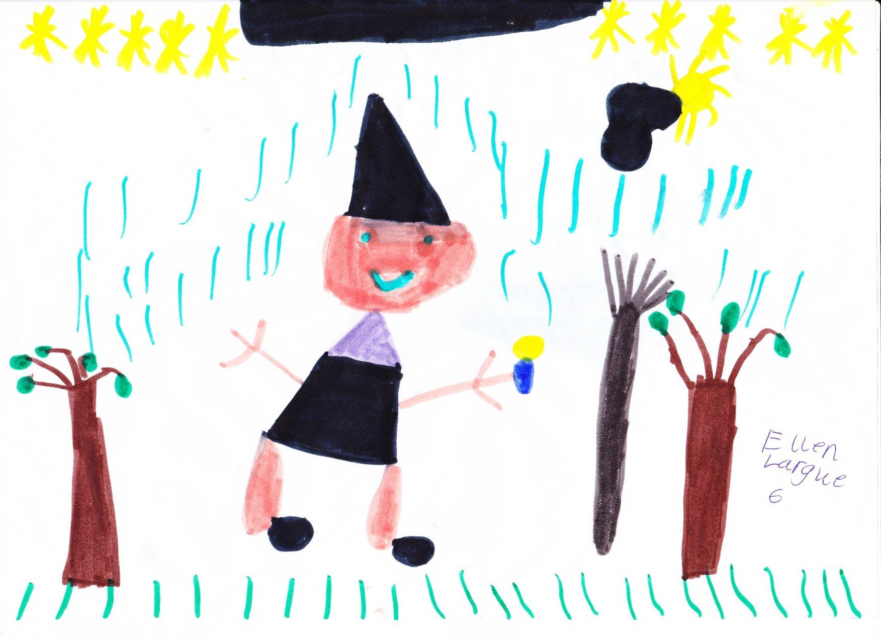 Ellen Largue, Age 6