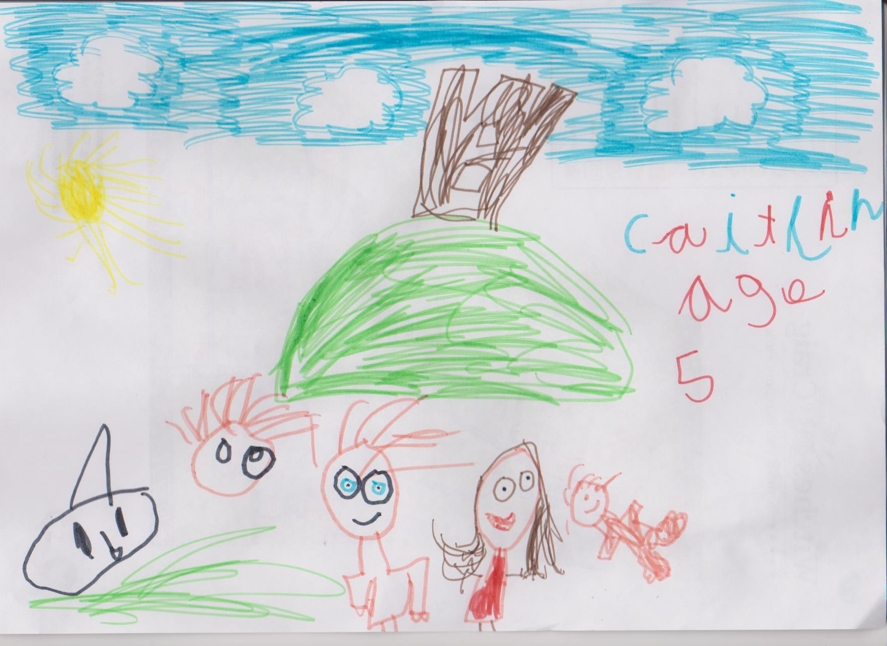 Caitlin, Age 5 001