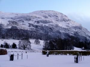 Snow scene 2018